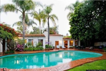 Marilyn Monroe Brentwood Home Pool